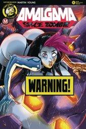 Amalgama Space Zombie #6 Cover C Rudetoons Reynolds