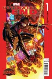 Ultimate End #1 Bagley Spider-Man Variant