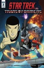 Star Trek vs. Transformers #2 Cover B Ferreira