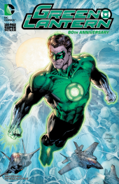 Green Lantern 80th Anniversary 100-Page Super Spectacular #1 2010s Variant Cover by Jim Lee and Scott Williams
