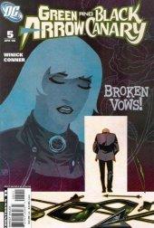 Green Arrow / Black Canary #5 Original Cover