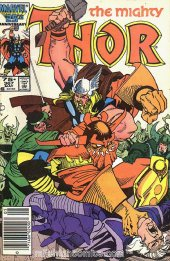 The Mighty Thor #367 Newsstand Edition