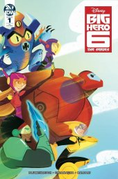Big Hero 6: The Series #1 1:10 Incentive Variant