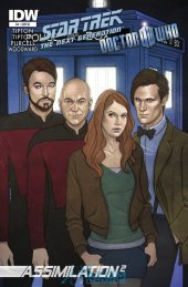 Star Trek: The Next Generation/Doctor Who: Assimilation2 #7 10 Copy Incv