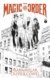 The Magic Order #1 Cover B B&W Coipel