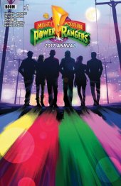mighty morphin power rangers 2017 annual #1