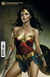 Wonder Woman #760 Middleton Card Stock Variant Edition