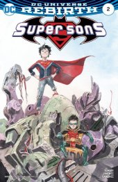 Super Sons #2 Variant Edition