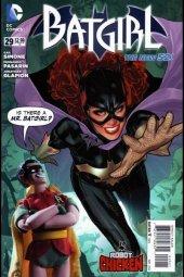 Batgirl #29 Robot Chicken incentive variant