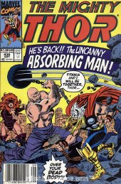 The Mighty Thor #436 Newsstand Edition