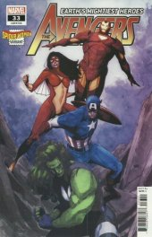 Avengers #33 Spider-Woman Variant Edition