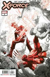 X-Force #2 2nd Printing