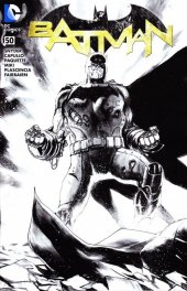 Batman #50 Fried Pie Albuquerque Black and White Variant