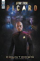 Star Trek: Picard - Countdown #3 Original Cover