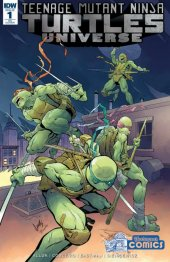 Teenage Mutant Ninja Turtles: Universe #1 Yesteryear Comics Exclusive Variant Cover