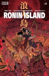 Ronin Island #1 1:15 Lafuente Cover