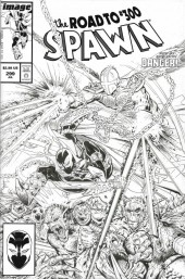 Spawn #299 Cover C B&w Mcfarlane