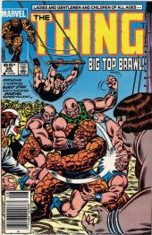 The Thing #26 Newsstand Edition