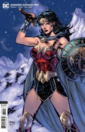 Wonder Woman #759 Jim Lee Card Stock Variant Edition