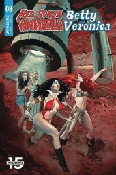 Red Sonja & Vampirella Meet Betty & Veronica #8 Original Cover