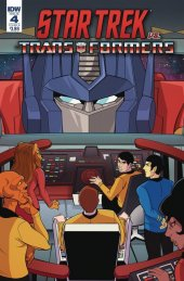 Star Trek vs. Transformers #4 Cover B Tramontano
