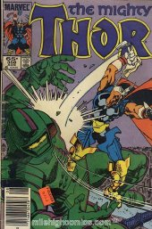 The Mighty Thor #358 Newsstand Edition