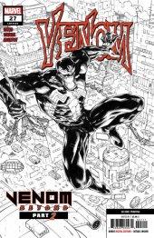 Venom #27 1:25 2nd Printing Sketch Variant