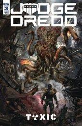 Judge Dredd: Toxic #3 Cover B Gallagher