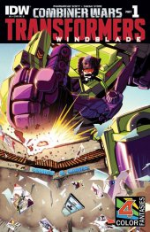 The Transformers: Windblade #1 4 Colors Fantasies Comics exclusive