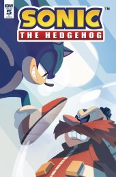 Sonic the Hedgehog #5 1:10 Incentive Variant