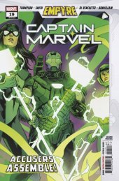Captain Marvel #19 2nd Printing Smith Variant
