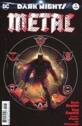 Dark Nights: Metal #1 Greg Capullo Midnight Variant A