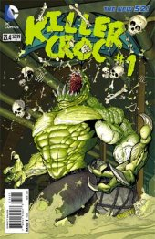Batman and Robin #23.4 Killer Croc