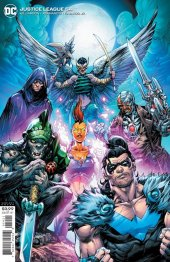 Justice League #54 Cover B Howard Porter Variant Cover