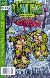 teenage mutant ninja turtles adventures #2