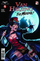 Van Helsing vs. The Werewolf #1 Cover B Diaz
