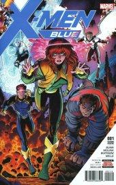 X-Men: Blue #1 2nd Printing