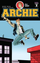 Archie #1 Haspiel Cover