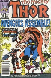 The Mighty Thor #390 Newsstand Edition