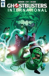 Ghostbusters International #6 AOD Collectables Exclusive Cover