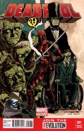 Deadpool #1 Charles Paul Wilson III Variant