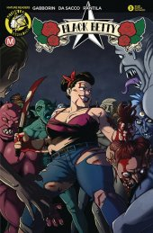 Black Betty #3 Cover D Young Battle Damaged