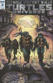 Teenage Mutant Ninja Turtles: Universe #2 Eastman Variant