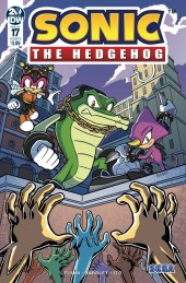 Sonic the Hedgehog #17 Cover B Peppers