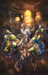 Teenage Mutant Ninja Turtles #101 Alan Quah Exclusive Virgin Variant