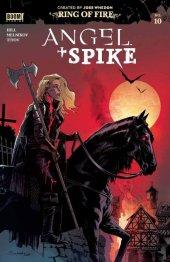 Angel & Spike #10 1:20 Scharf Cover
