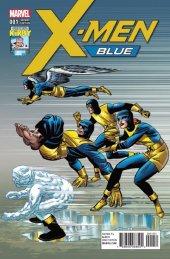 X-Men: Blue #1 Kirby 100th Anniversary Variant