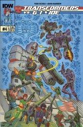 Transformers vs. G.I. Joe #4 Original Cover