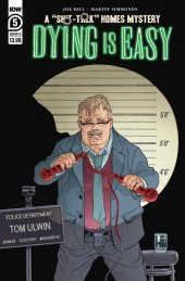 Dying is Easy #5 Cover B Rodriguez
