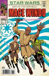 Star Wars: Jedi of the Republic - Mace Windu #1 Rodriguez Variant